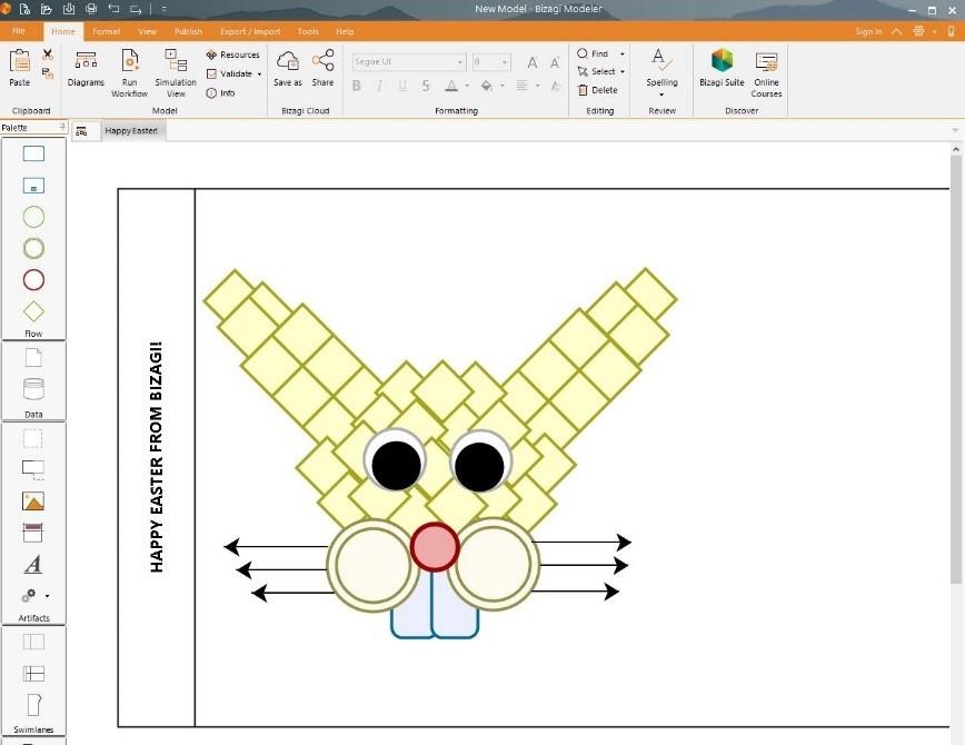 Bizagi Modeler Drawing Bunny