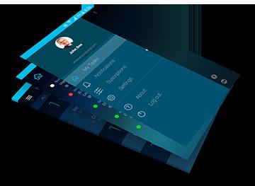 App instant workflow auraportal different screens