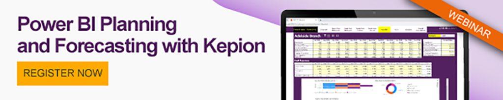 Power BI Planning and Forecasting with Kepion CTA