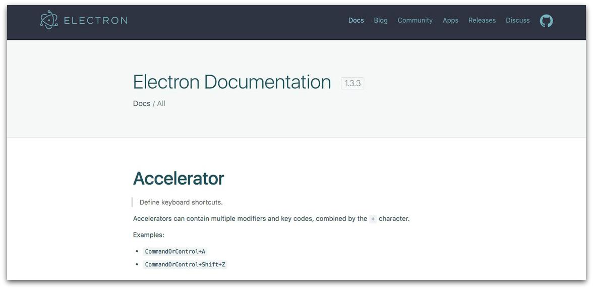Electron Software Documentation-d