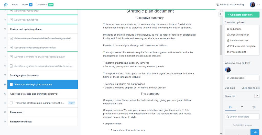 Strategic planning template - image 6
