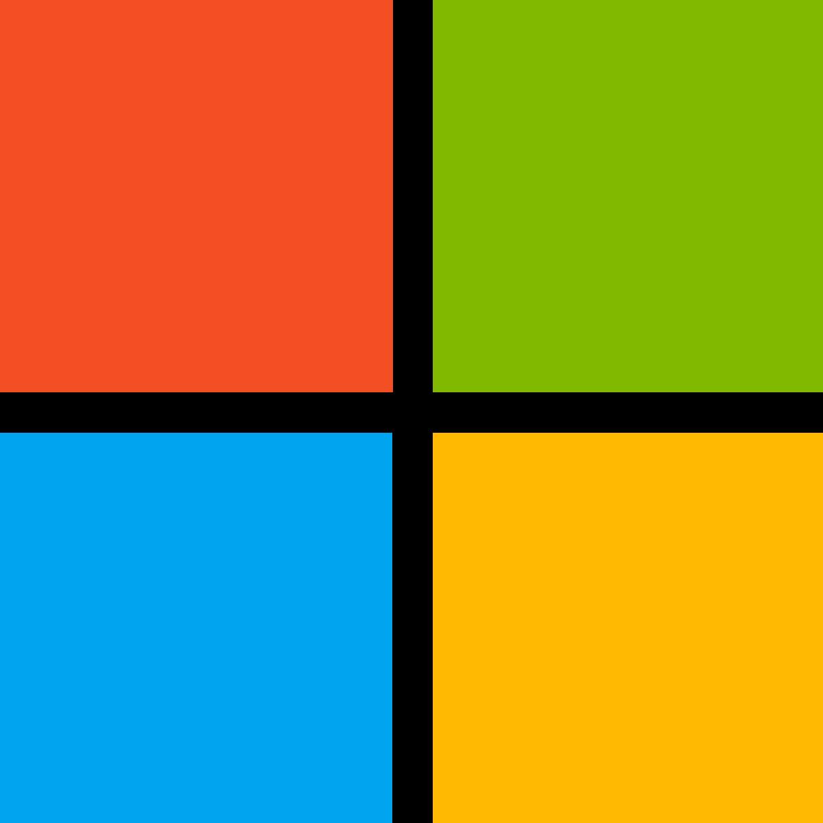 Microsoft box logo – Logos Download