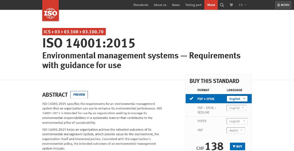 ISO 14001 grc tools
