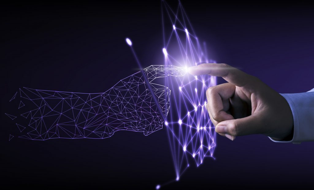 digital transformation concept with next generation technology