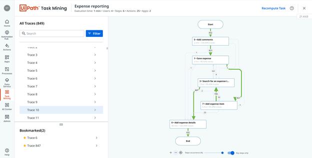 task mining screenshot
