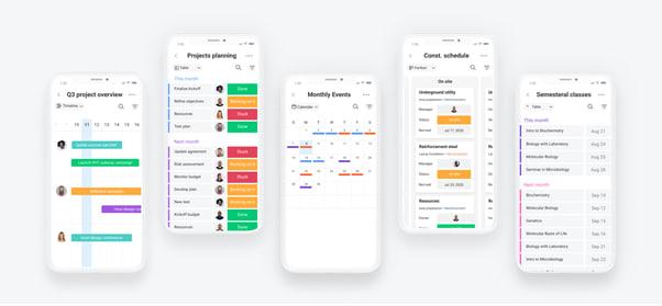monday.com mobile app