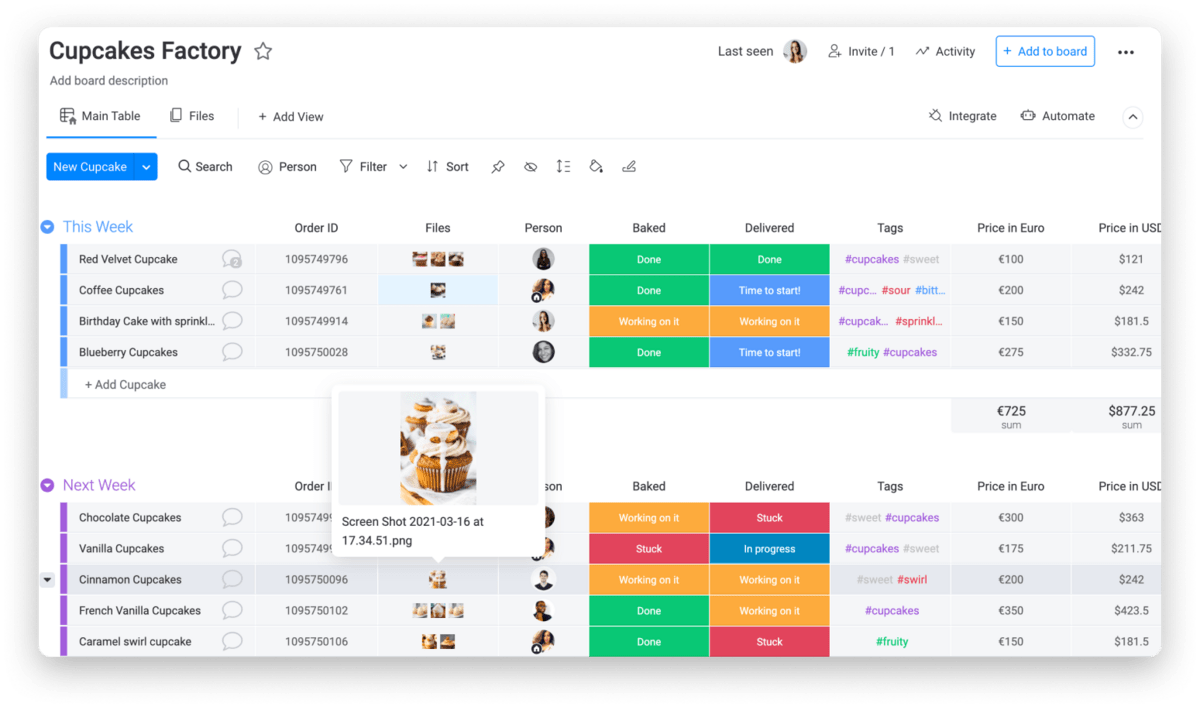 share files with ease on monday.com's project boards