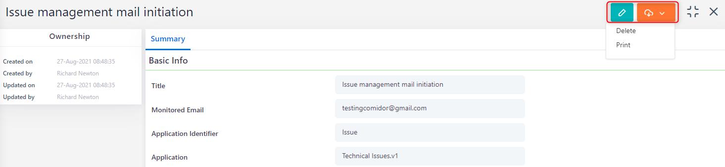 Email Automation Configuration | Comidor Platform
