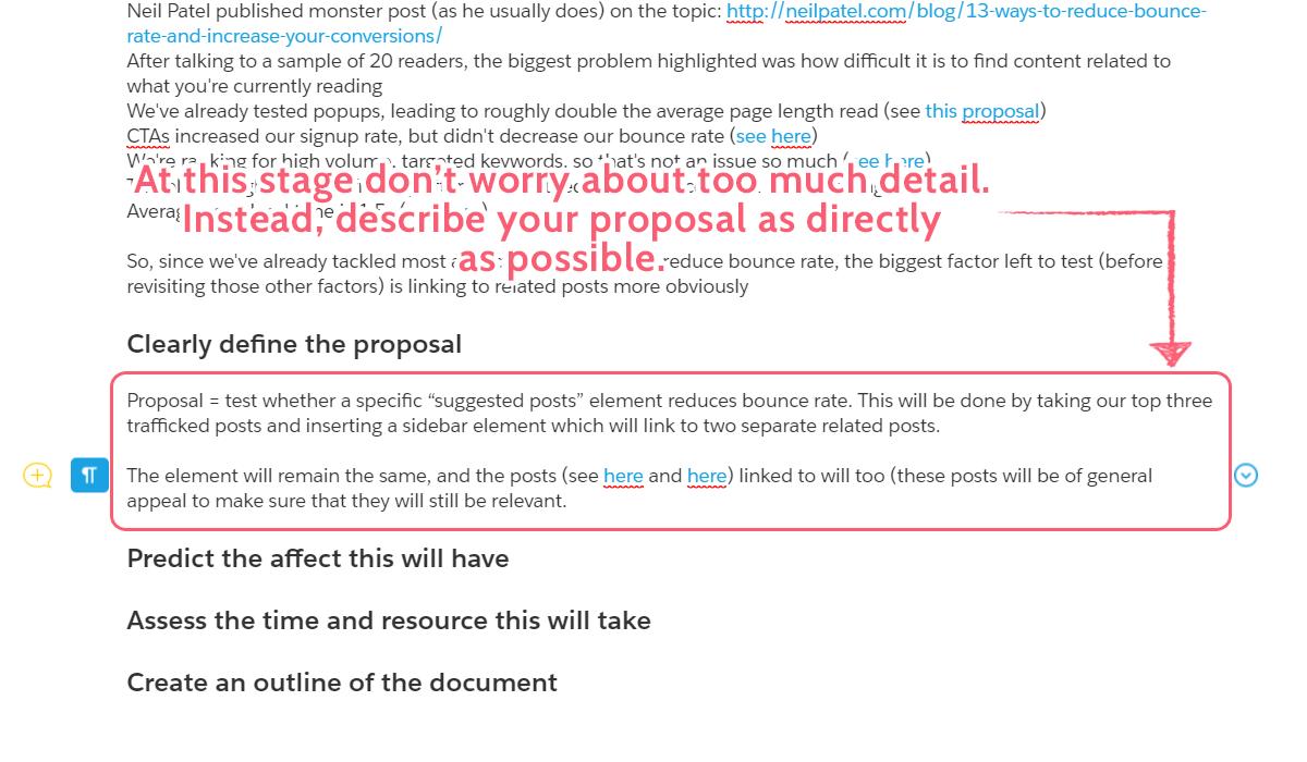project proposal - plan define proposal