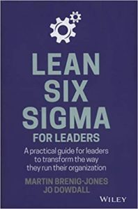 Lean Six Sigma For Leaders - cover