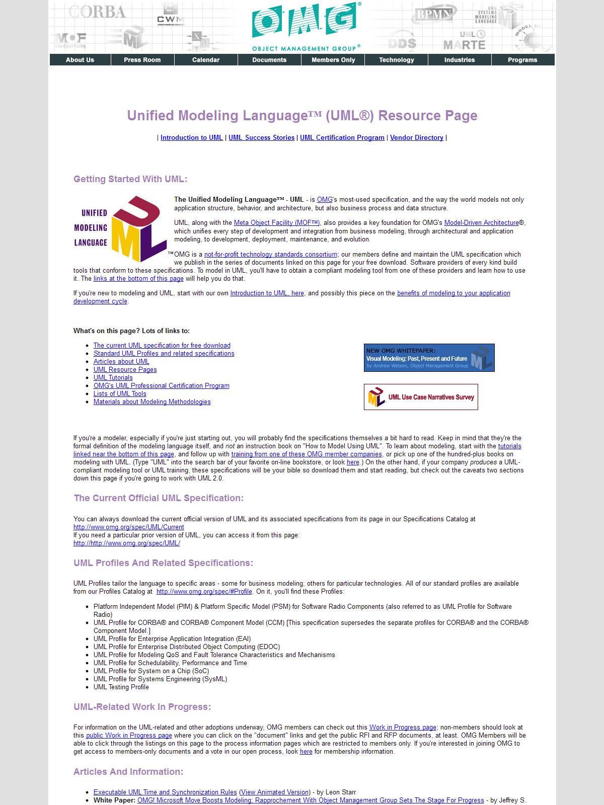 Unified Modeling Language (UML) - BPI - The destination ...