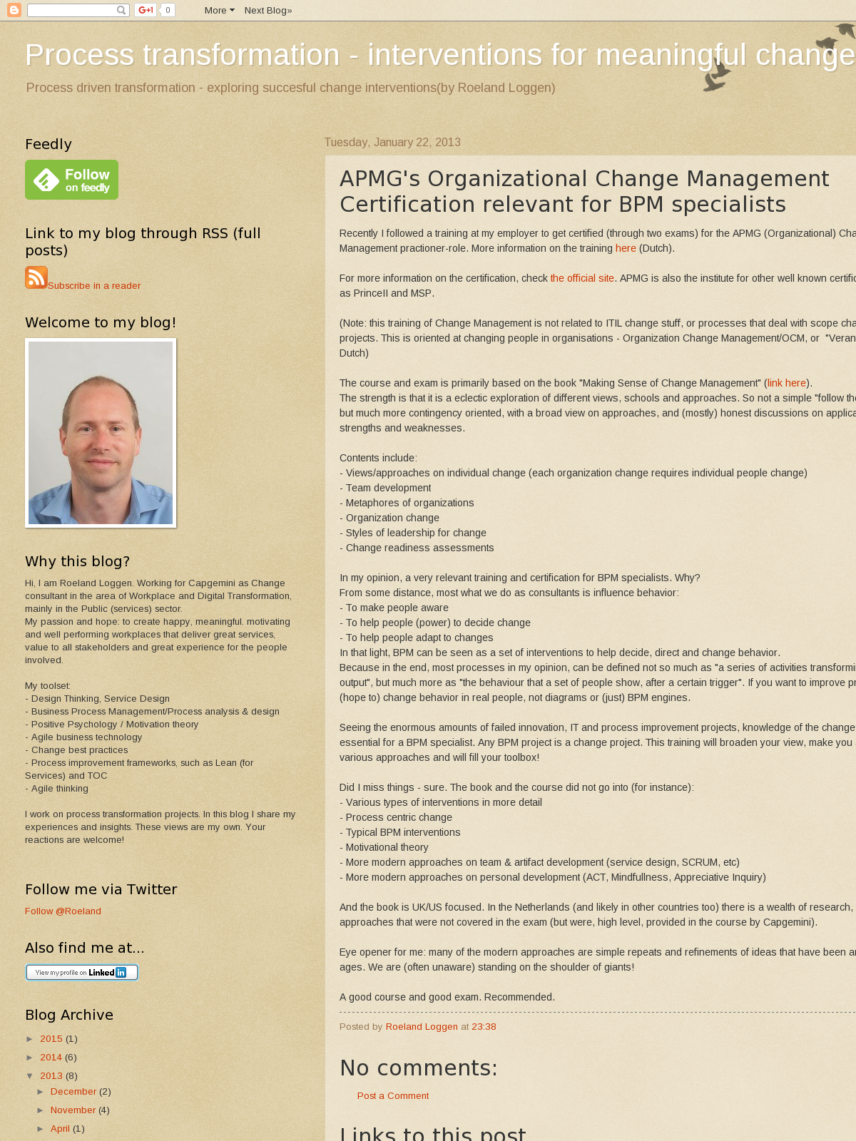 Apmgs Organizational Change Management Certification Relevant For