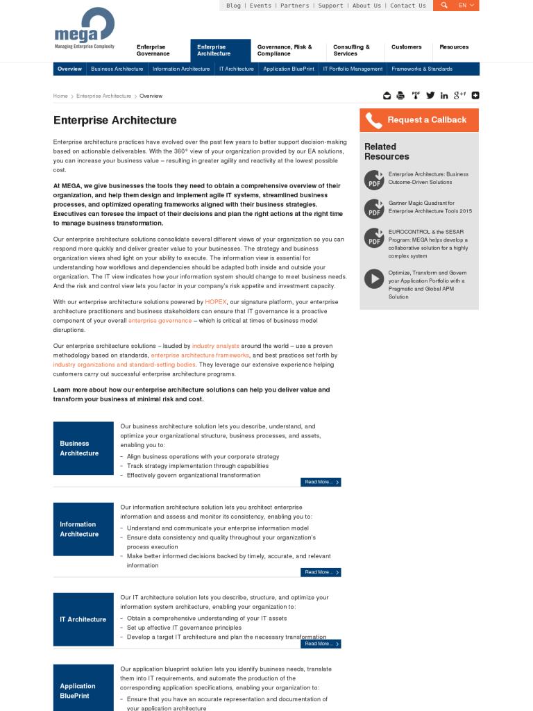 Enterprise Architecture Tools | Mega Enterprise Architecture Tool Bpi The Destination
