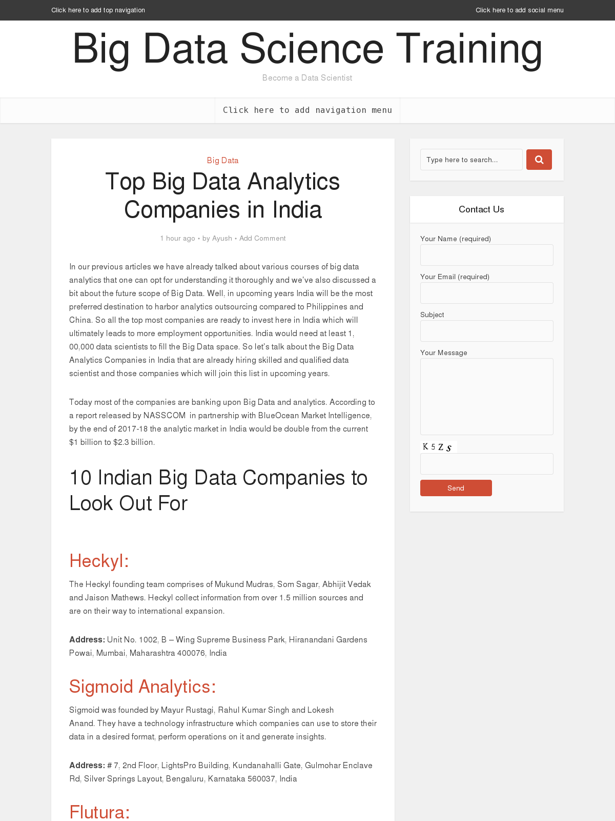 big data in companies Our readers and over 50 + big data ai iot blockchain conferences help us reach a potential audience over half a million publisher categories bigdata ai iot blockchain products bigdata ai iot blockchain courses.