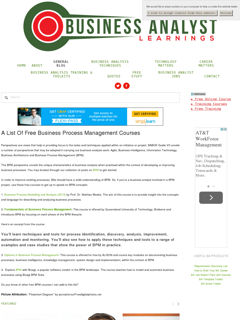 A List Of Free Business Process Management Courses - BPI ...