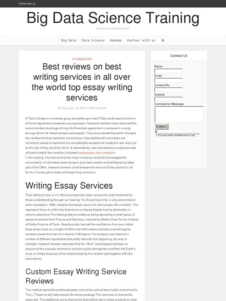 Argumentative Essay Topics On Health Best Reviews On Best Writing Services In All Over The World Top Essay  Writing Services  Bpi  The Destination For Everything Process Related Protein Synthesis Essay also How To Write An Essay High School Best Reviews On Best Writing Services In All Over The World Top  Thesis Statement Generator For Compare And Contrast Essay