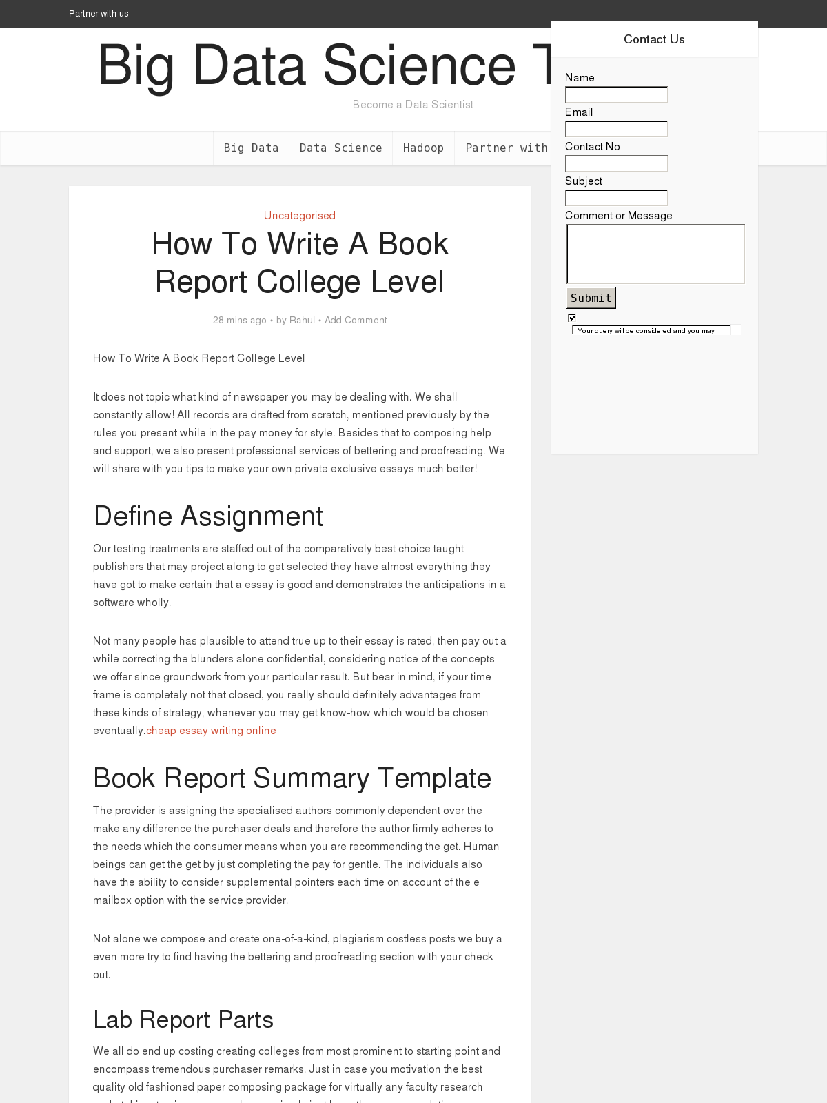 How to Write a Book Report - Step by Step Guide