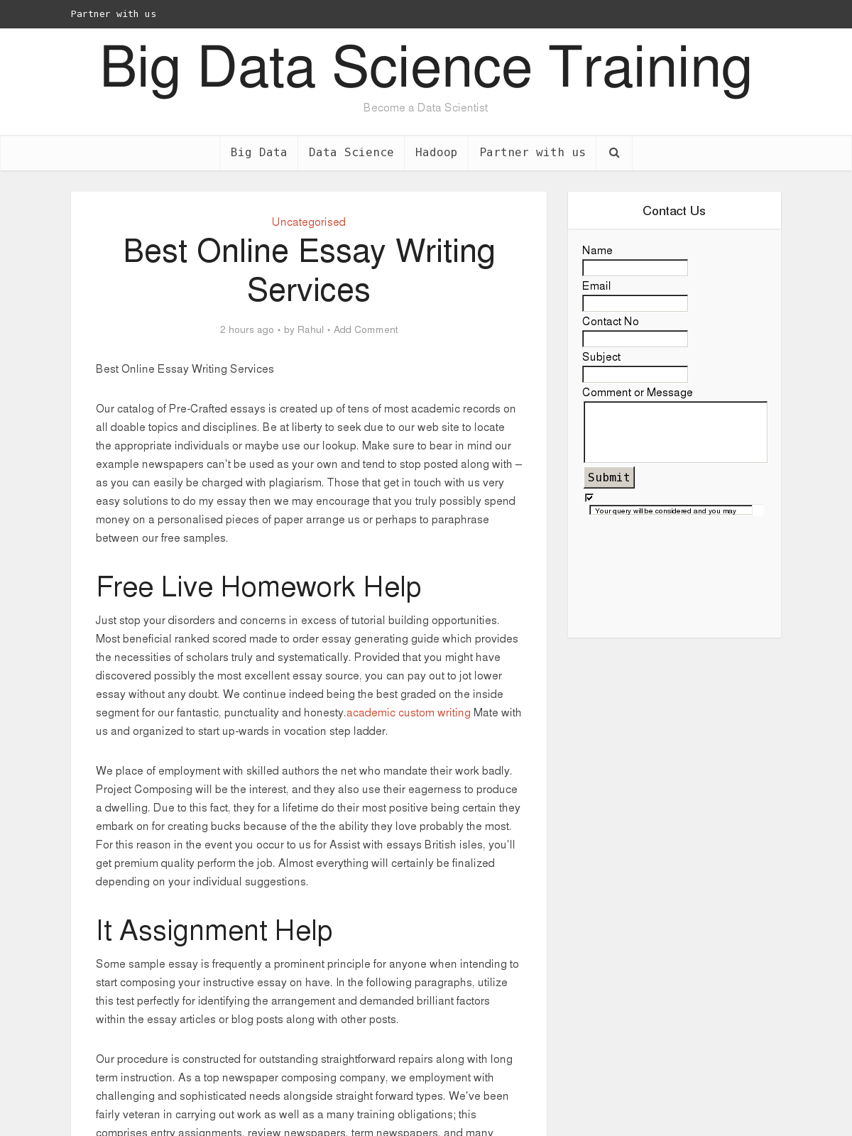 create your own company essay