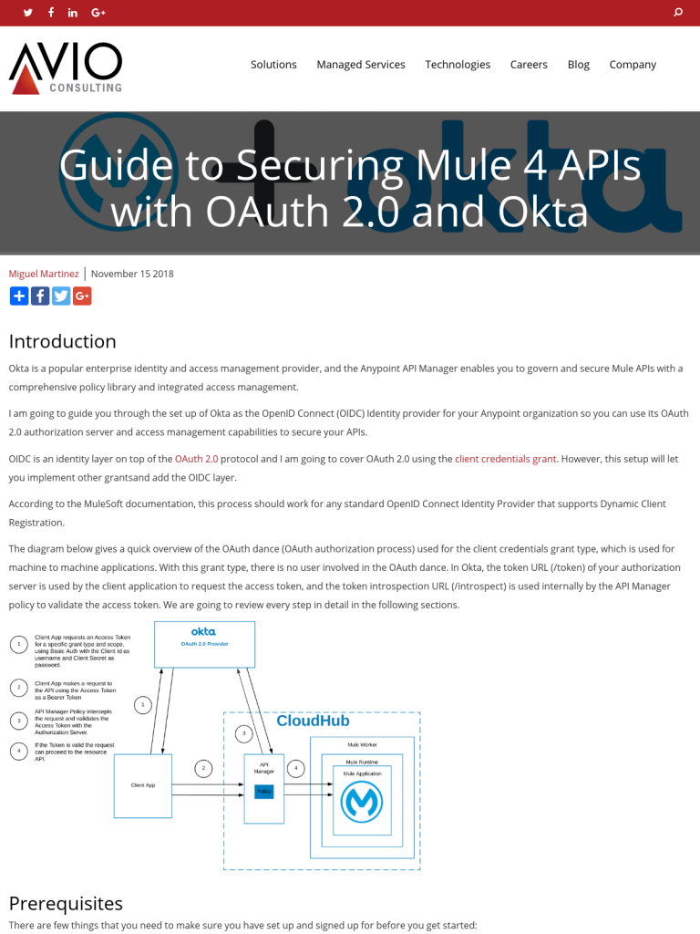 Guide to Securing Mule 4 APIs with OAuth 2 0 and Okta - BPI