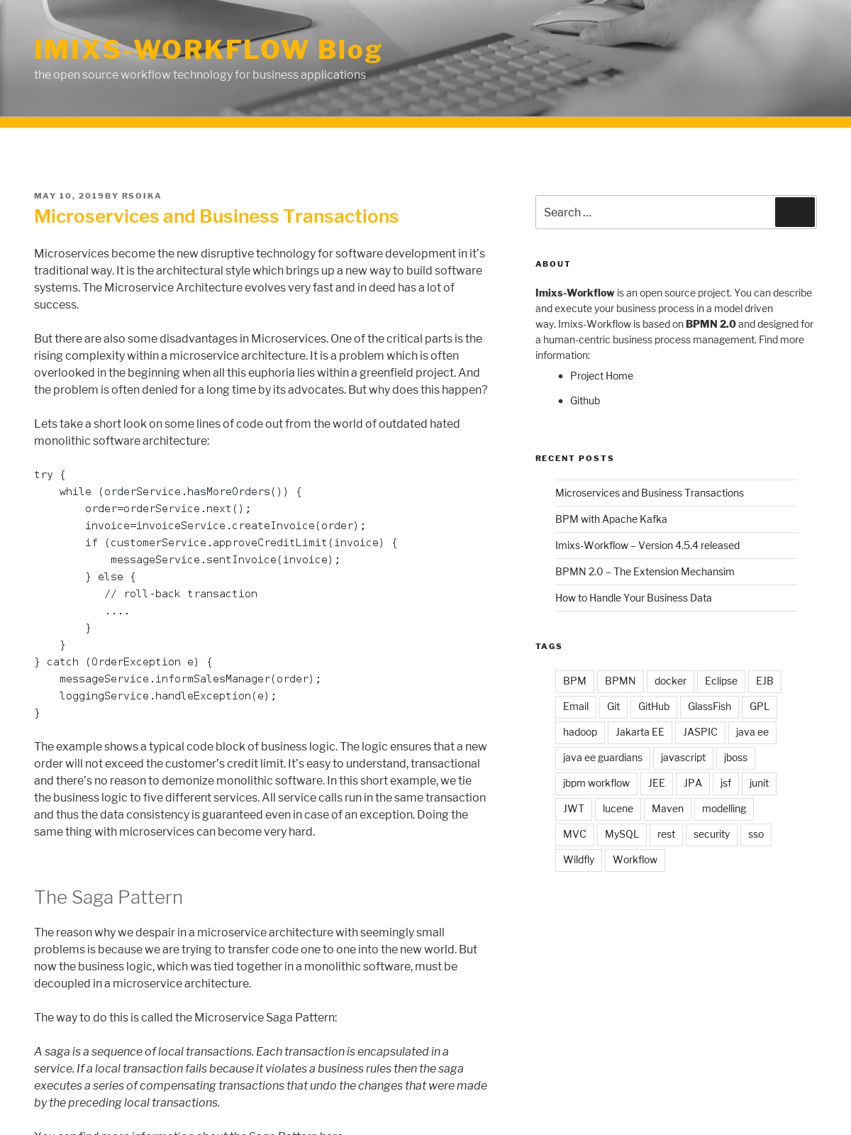 Microservices and Business Transactions - BPI - The